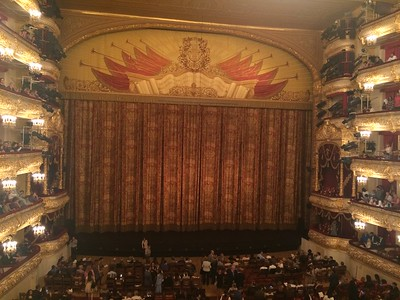 Bolshoi Theater stage - Joy Allen
