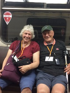 Martha and Bob on the Metro - Joy Allen