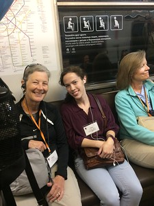 Mary, Anna, and Anne on the Metro - Joy Allen