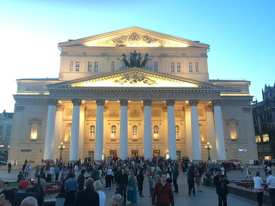 Bolshoi Theater exterior - Joy Allen