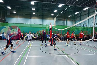 John Syer Grand Prix Finals, Institute of Sport and Exercise, University of Dundee, Sun 12th Feb 2017.  Men: CoE 3 v 0 City of Glasgow Ragazzi (25-17, 25-23, 26-24)  Women: Su Ragazzi 3 v 1 University of Edinburgh (20-25, 25-17, 25-17, 25-16)  © Michael McConville  http://www.volleyballphotos.co.uk/2017/SCO/Cups/20170212-jsgp