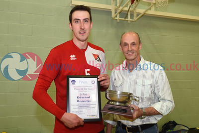 League Presentations and SVL Premier Player of the Year Awards 2016-17, Coatbridge High School, 29 April 2017.  © Lynne Marshall  http://www.volleyballphotos.co.uk/2017/SCO/League/20170429-presentations/