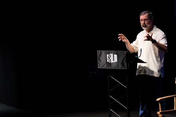STATE OF CINEMA:  @edcatmull @sffilm #SFFILMFESTIVAL EDWIN CATMULL