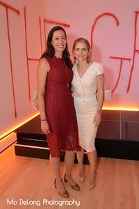Tania Boner and Sabrina Persson
