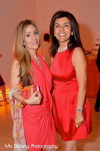 Christine Lowndefs and Farnoosh Hariri