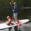 JEFF AND RYAN OUT PADDLEBOARDING