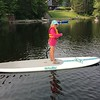 LIBBY OUT PADDLEBOARDING ALL BY HERSELF