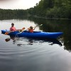 J.P. AND ELLIE KAYAKING LATE IN THE DAY