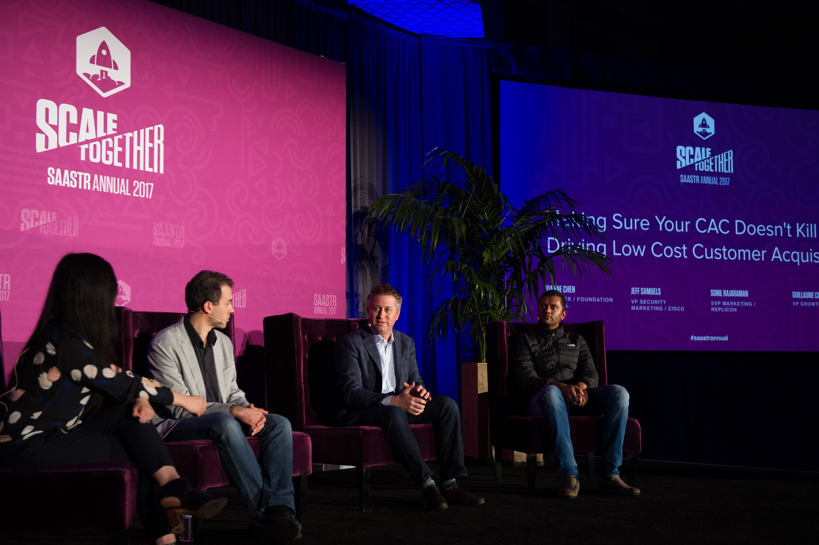 Making Sure Your CAC Doesn't Kill You: Driving Low Cost Customer Acquisition Joanne Chen PARTNER / FOUNDATION CAPITAL Jeff Samuels VP SECURITY MARKETING / CISCO  Sunil Rajaraman SVP MARKETING / REPLICON Guillaume Cabane VP GROWTH / SEGMENT