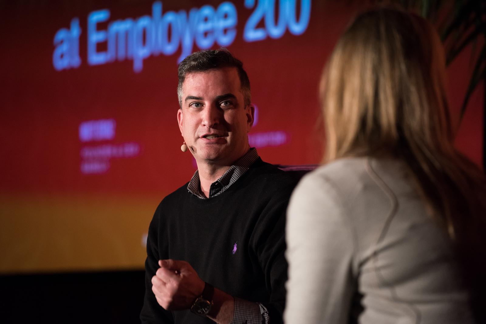 What Changes at Employee 200 Matt Straz FOUNDER & CEO / NAMELY Caroline Fairchild NEW ECONOMY EDITOR / LINKEDIN