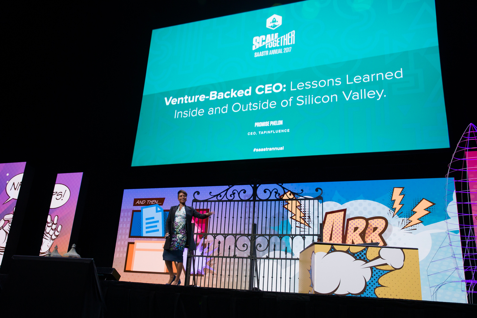 Venture-Backed CEO: Lessons Learned Inside and Outside of Silicon Valley Promise Phelon CEO / TAP INFLUENCE