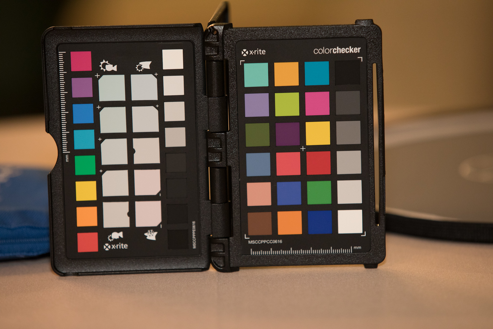 Calibration images for Photographer