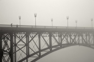 Morning Fog on Gay Street Bridge