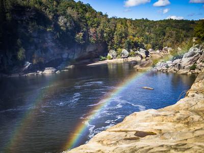 Rainbow On The Water