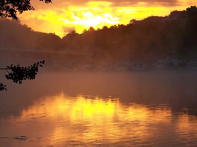 Sunrise In Bromma, Sweden