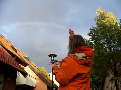 Anne Paints A Rainbow-Bromma Sweden