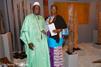 Sambou and Carol Sissoko