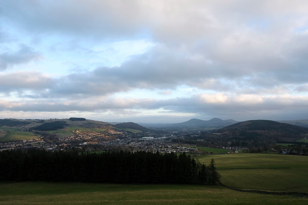View over Galashiels