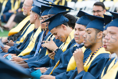 Newburgh Free Academy held its 152nd Commencement Exercises for the graduating Class of 2017 on Academy Field in the City of Newburgh, NY on Thursday, June 22, 2017. Hudson Valley Press/CHUCK STEWART, JR.