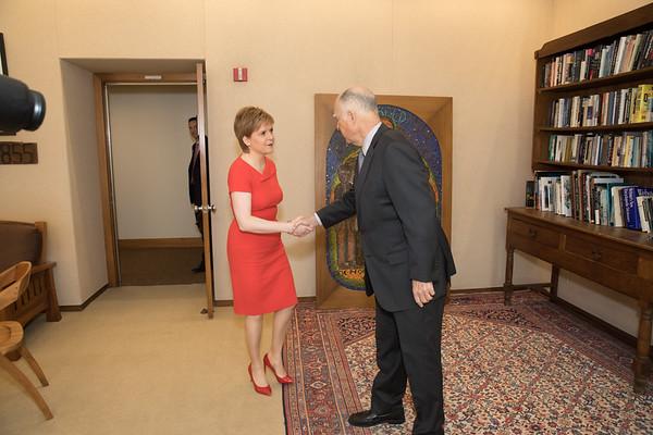 Nicola Sturgeon First Minister of Scotland
