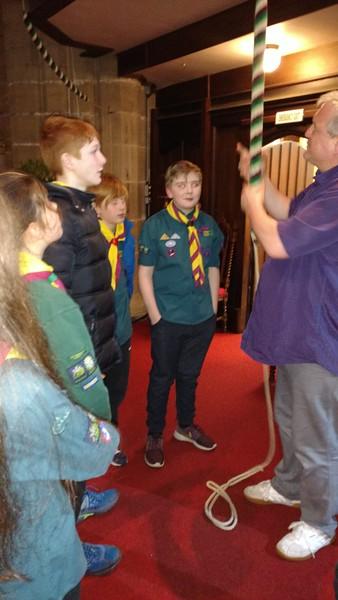 Scouts - Crofton Church Visit