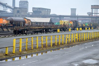 Storage sidings inc a couple of Mullet 967s.