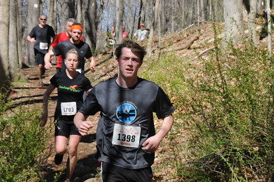 Brendan Oates comes down from the Pine Forest section. (photo by Keith Realander)