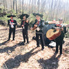 Mariachi Band at the 2 Mile mark for runner entertainment (photo by Rob Cummings)