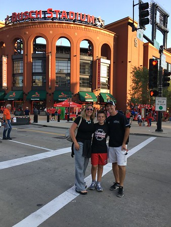 Sept. 9-13: Quinn's 11th Birthday, Trip to St. Louis, Cardinals Game, Mets at Cubs Game (Sept. 13)