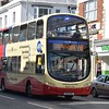 """Brighton and Hove Volvo Wright Eclipse Gemini BJ11XHS 416 """"Cardinal Newman"""" in Hove on the 49 to East Moulsecoomb."""