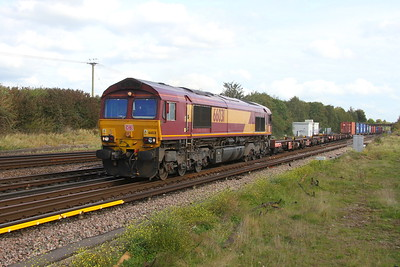 66031 Worting Junction 23/09/17 4O43 Birch Coppice to Eastleigh
