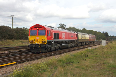 66055 Worting Junction 12/09/17 5Z44 Burton Wetmore Sidings to Eastleigh
