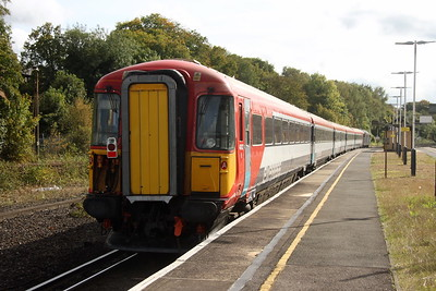 2422 Micheldever 28/09/17 5086 Ely Papworth Sidings to Bournemouth