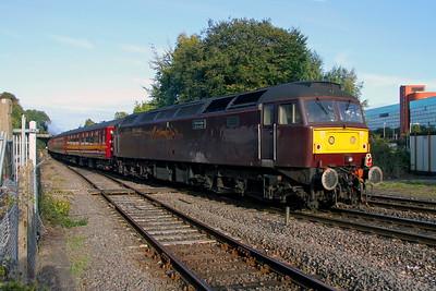 47746 Basingstoke 23/09/17 on the rear of 1Z49 Salisbury to Faversham