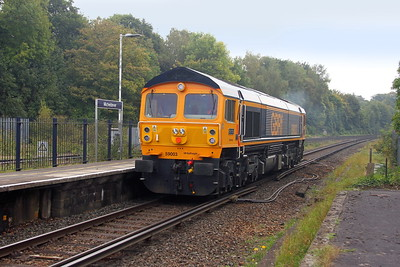 59003 Micheldever 27/09/17 0Y59 Eastleigh to Willesden