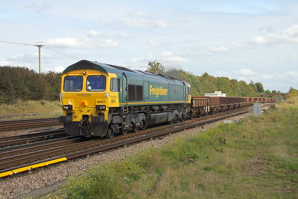 66501 Worting Junction 6O26 Hinksey to Eastleigh