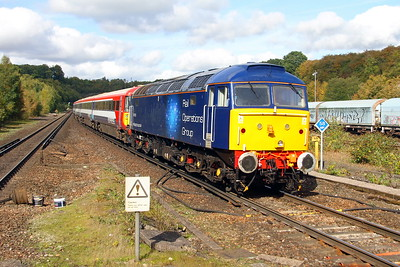 47813 Micheldever 28/09/17 5O86 Ely Papworth Sidings to Bournemouth with 2422
