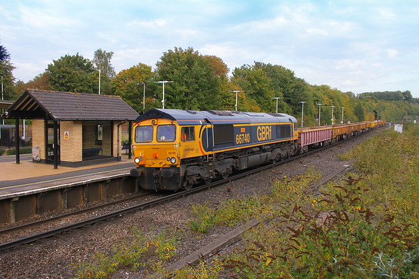 66740 Micheldever 24/09/17 6Y81 Vauxhall to Eastleigh