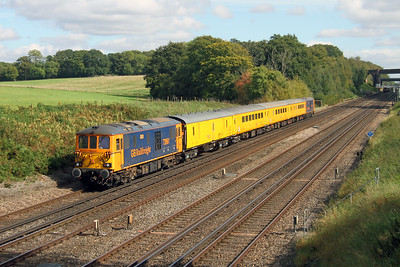 73961 Potbridge 28/09/17 on the rear of 1Q54 Eastleigh to Hither Green