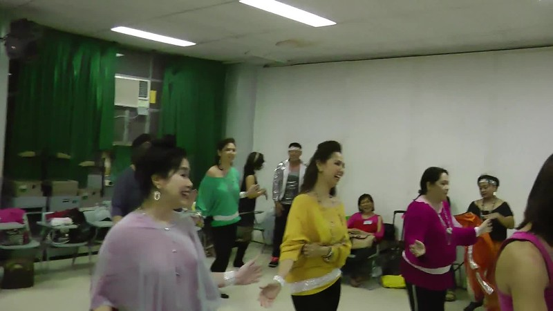 MC BATCH '87 80'S DANCE NUMBER PRACTICE