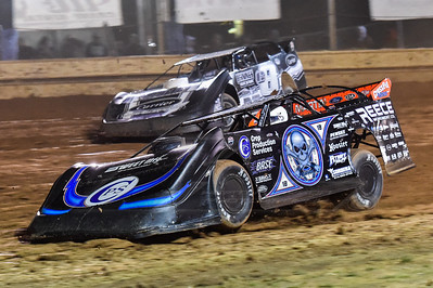 Scott Bloomquist (0) and Timothy Culp (C8)