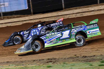 Josh Richards (1) ans Scott Bloomquist (0)