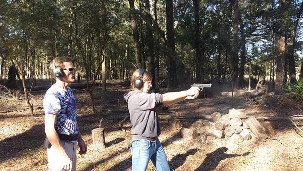 Shooting at the Knotts' Farm