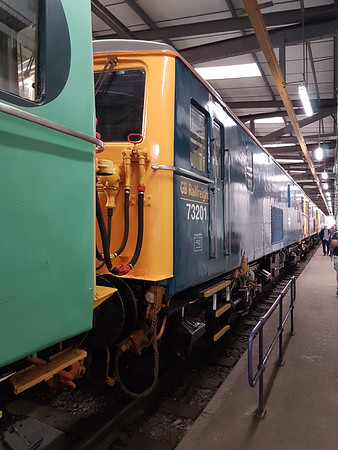 Class 73 73201 'Broadlands'