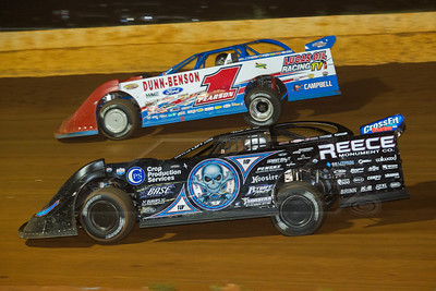 Scott Bloomquist (0) and Earl Pearson, Jr. (1)