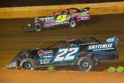 Gregg Satterlee (22) and Dusty Carver (9)