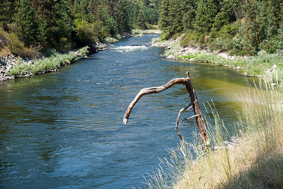Payette River en route from Boise to Tamarack