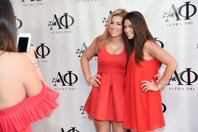 Sorority Red Dress Gala