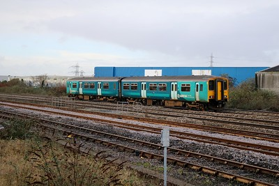 150267 passes Cardiff Splott Jct    29/12/17