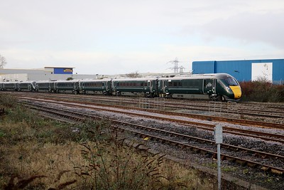 800010_800023 1031/1L48 Swansea-Paddington passes Cardiff Splott Jct    29/12/17